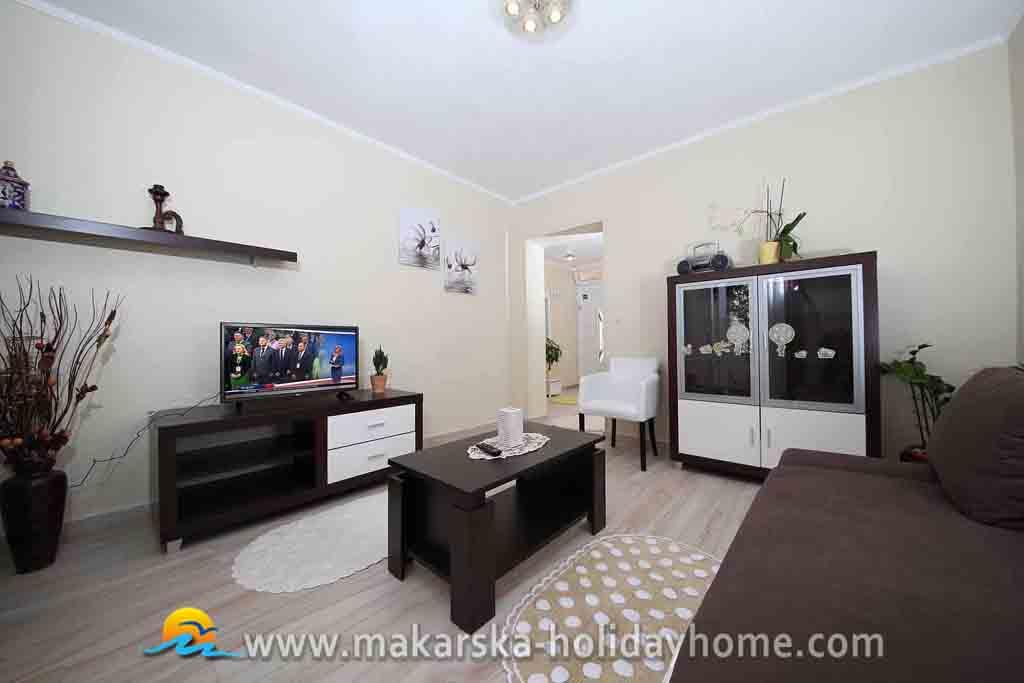 luxus-ferienwohnung makarska miete - apartment pervan, Badezimmer ideen
