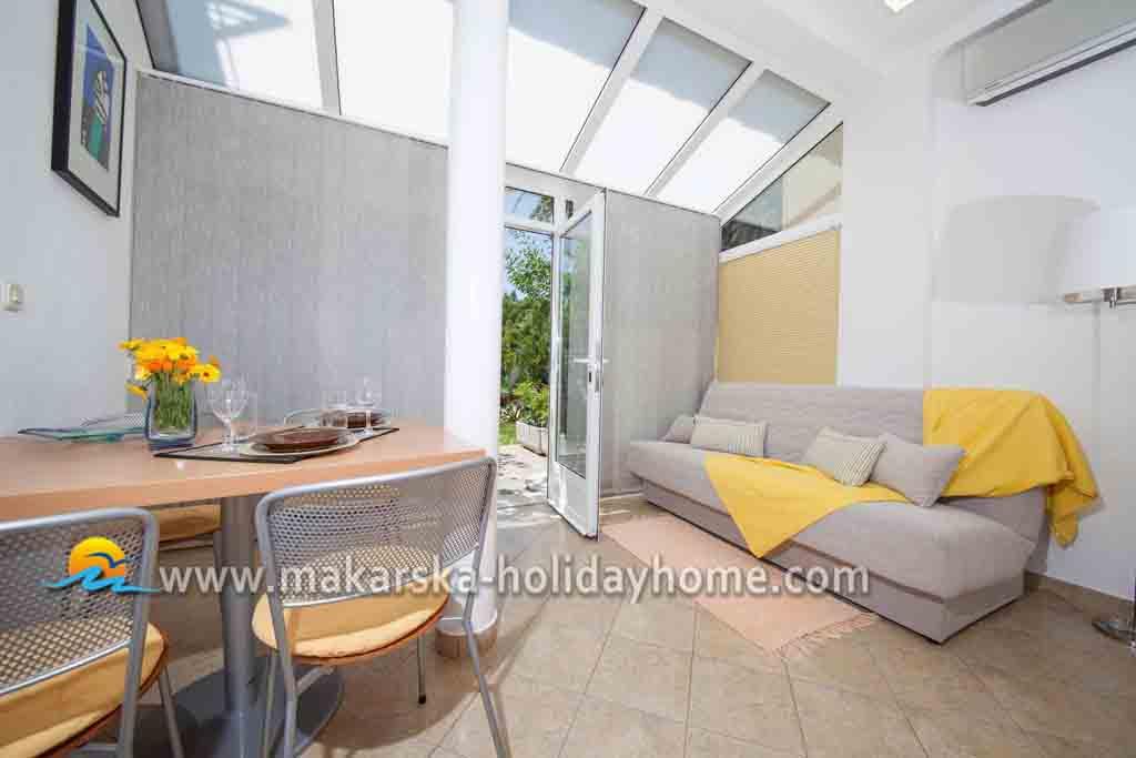 Ferienwohnung Kroatien direkt am Meer Makarska Apartment Niko A1