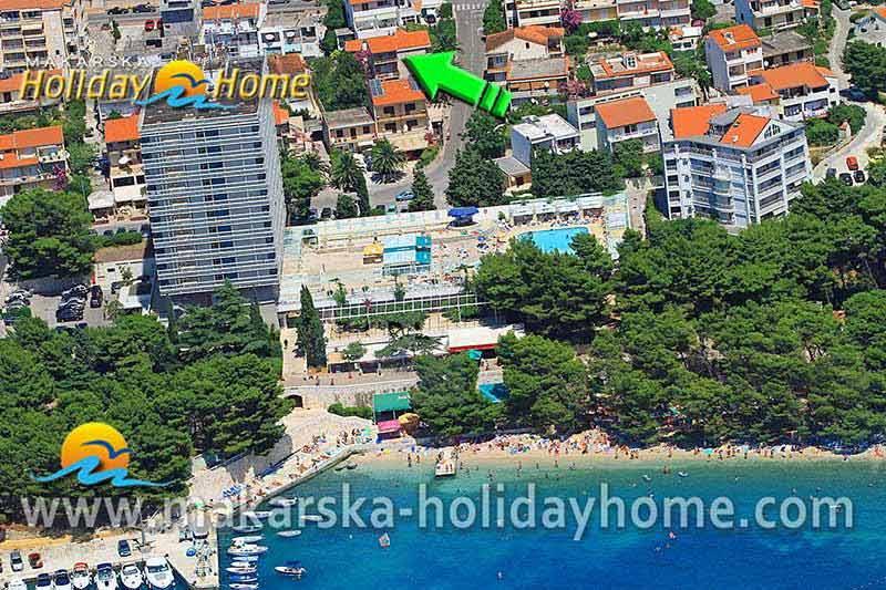 Makarska Studio Apartman Za 2 Osobe  U2502 Apartman Dalmacija A2