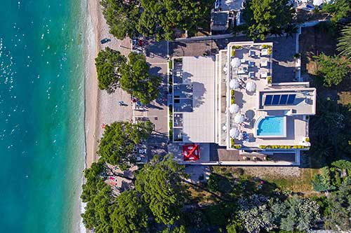Makarska beach rooms - Villa Jadranka