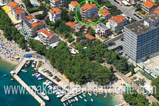Makarska Beach Apartments for 4 persons - Apartment Pivac A1