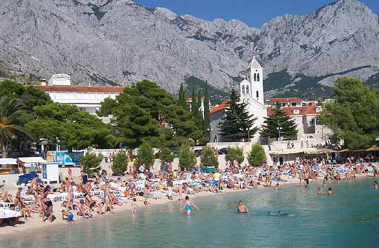 Apartments Baska Voda - Private accommodation