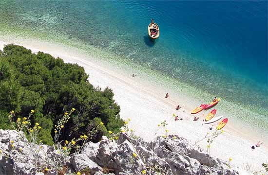 Advanture Makarska Cayaking