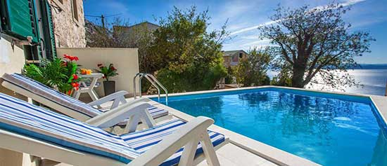 Holiday house with Pool - Tucepi Croatia