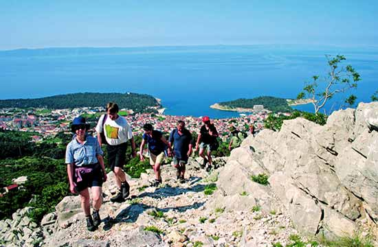 Croatia activity holiday Makarska - Mountaineering