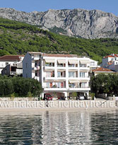 Prive accommodatie in Makarskariviera Tučepi