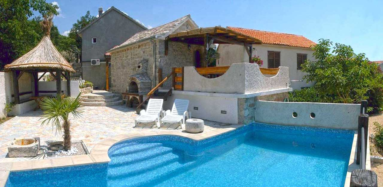 Ferienhaus In Brela   Steinhaus Mit Pool   Villa Kristic