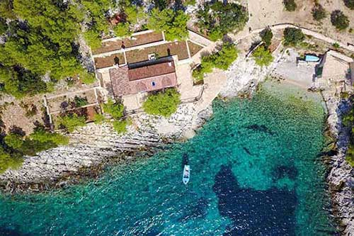 Holiday house for swingers couples in Croatia