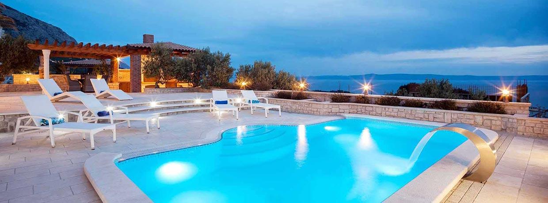 Ferienhaus kroatien mit pool am meer for Haus mit pool mieten