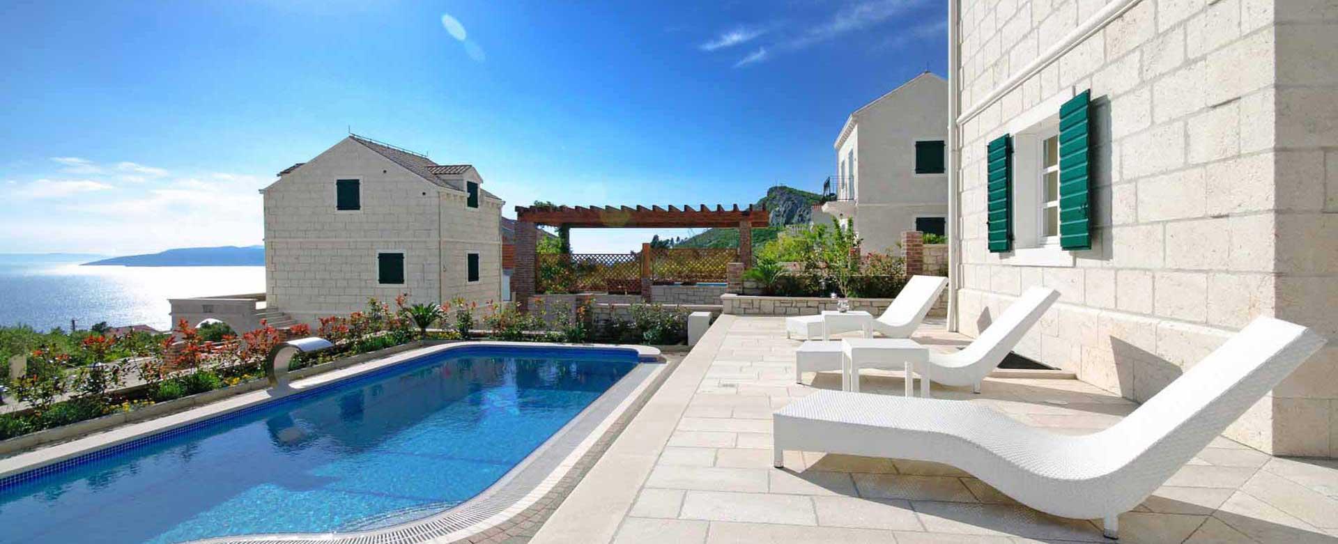 Ferienhaus kroatien mit pool am meer - Formentera ferienhaus mit pool ...