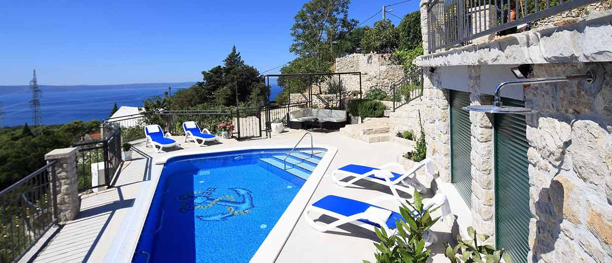 Luxury villas with Pool Makarska - Private accommodation