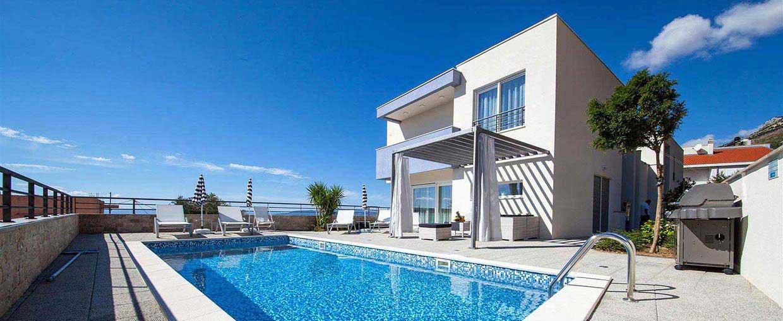 Villa Makarska With Pool For Rent Villa Great Hill 2