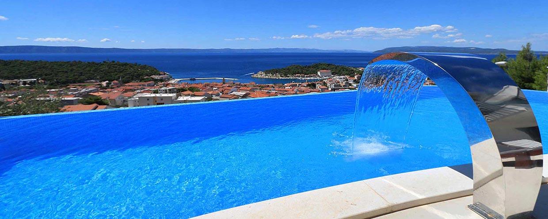 Groovy FERIEHUS KROATIA-Makarska-Leie villa med basseng-Villa OPACAK GY-36