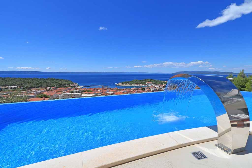 Luxus ferienhaus kroatien mit pool makarska villa opa ak - Formentera ferienhaus mit pool ...
