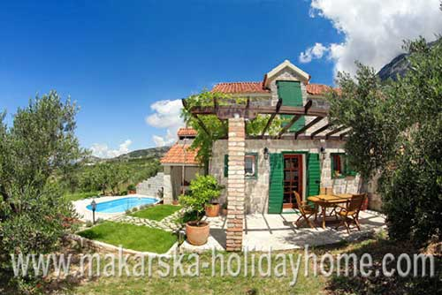 Villa with Pool Makarska - Villa Dragan