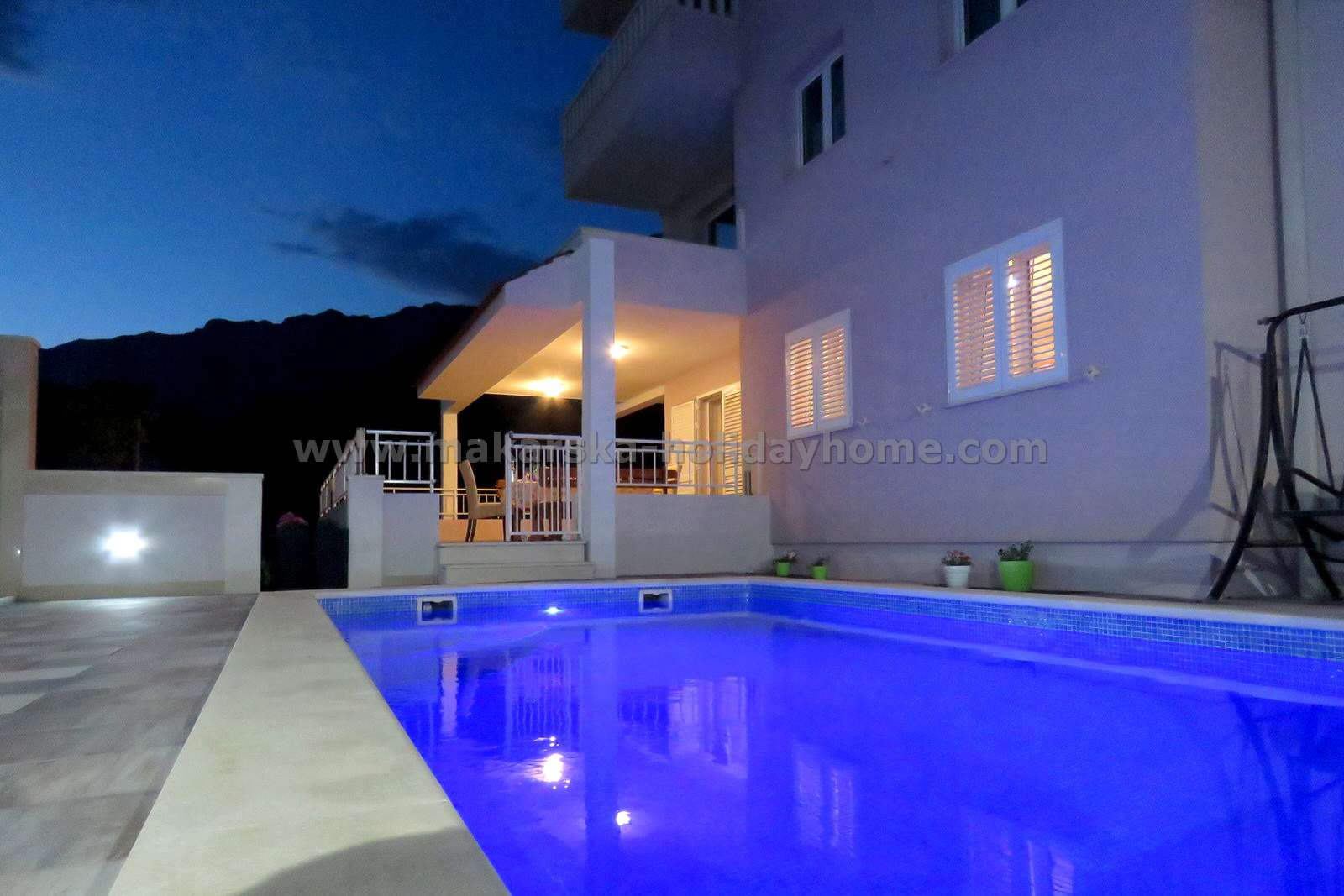 Holiday Apartment With Pool Makarska Croatia Villa Klepo