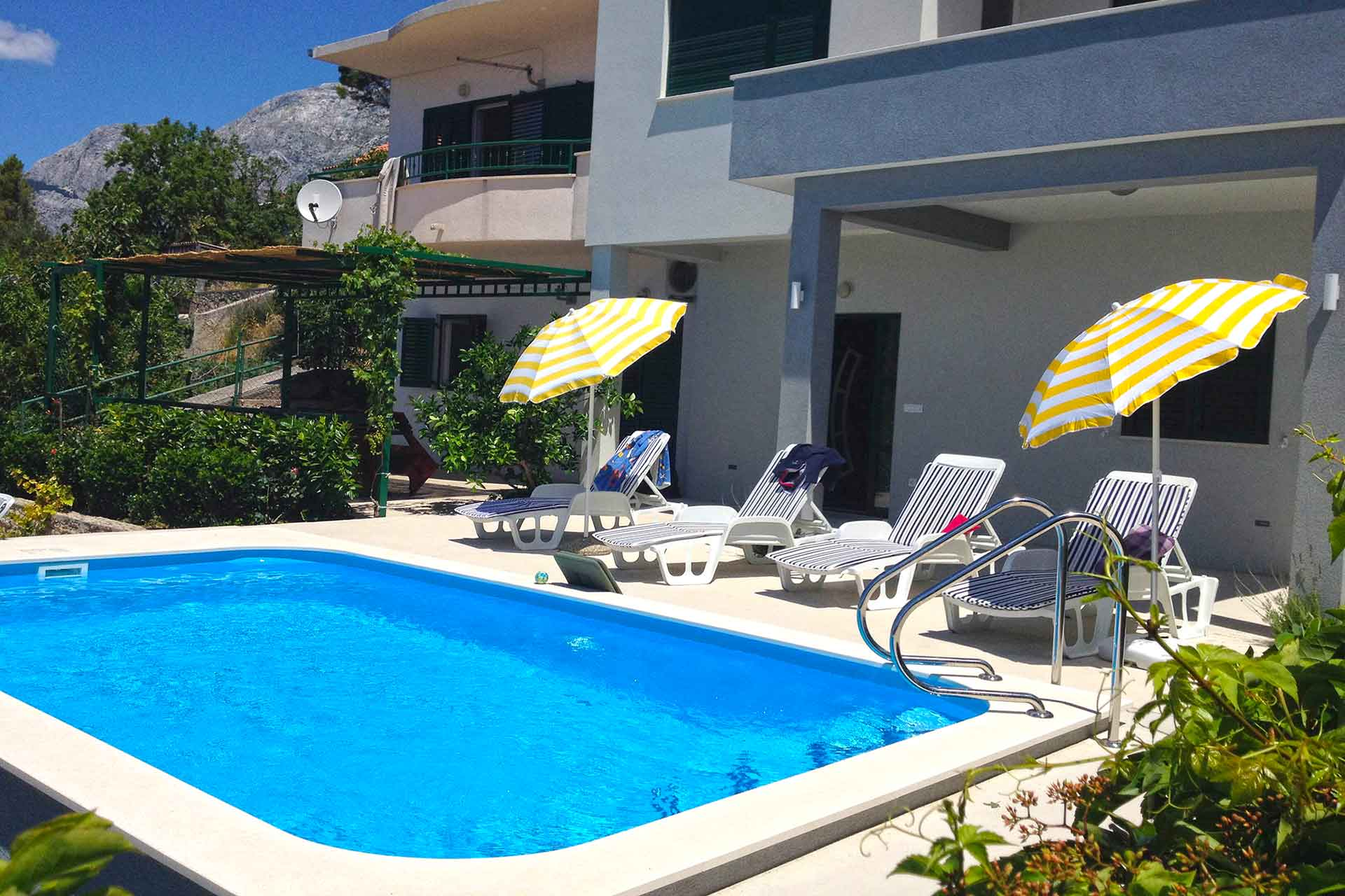 Holiday House Makarska With Pool House Kuk