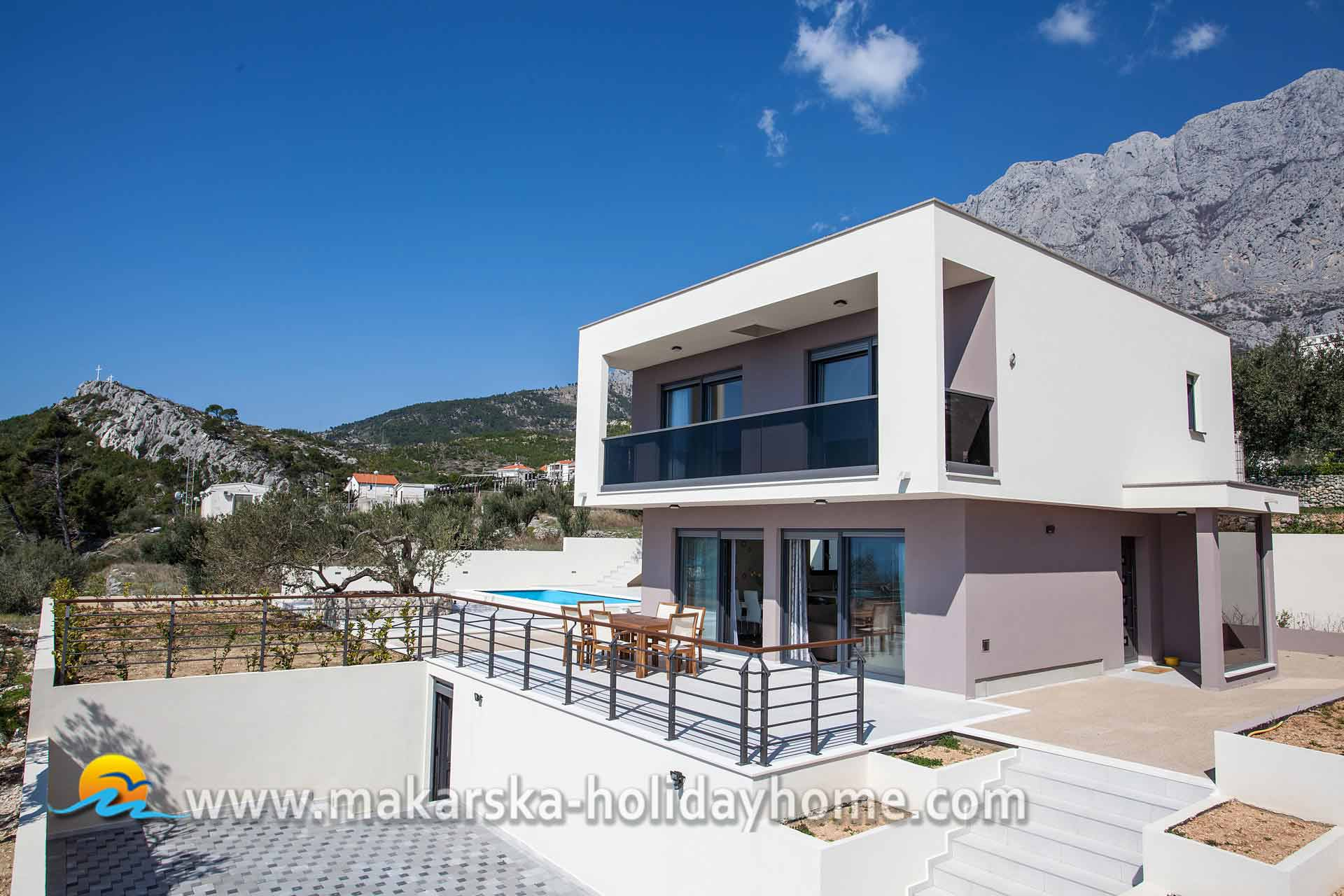 Croatia Holiday Villa With Pool Makarska Villa Silva