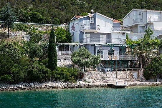 снять дом в хорватии на берегу моря